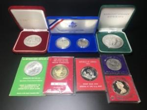 記念メダル 銀メダル