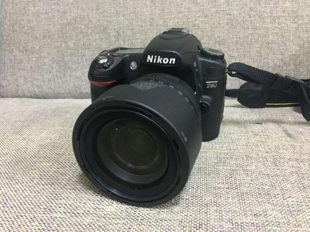 Nikonデジタル一眼レフカメラD80