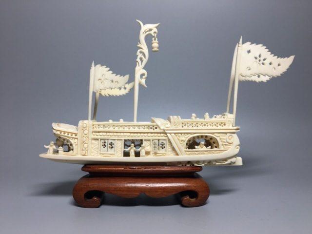 本象牙の船
